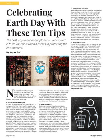 Page 18 of Celebrating Earth Day With These Ten Tips