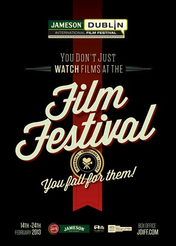 Jameson Dublin International Film Festival 2013 Catalogue by