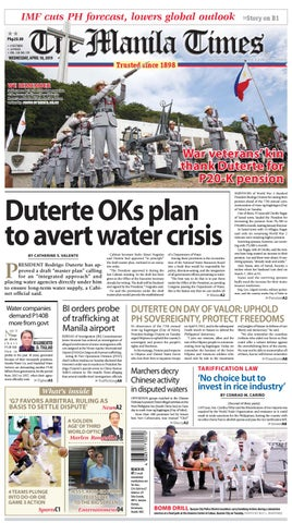 THE MANILA TIMES | APRIL 10, 2019 by The Manila Times - issuu