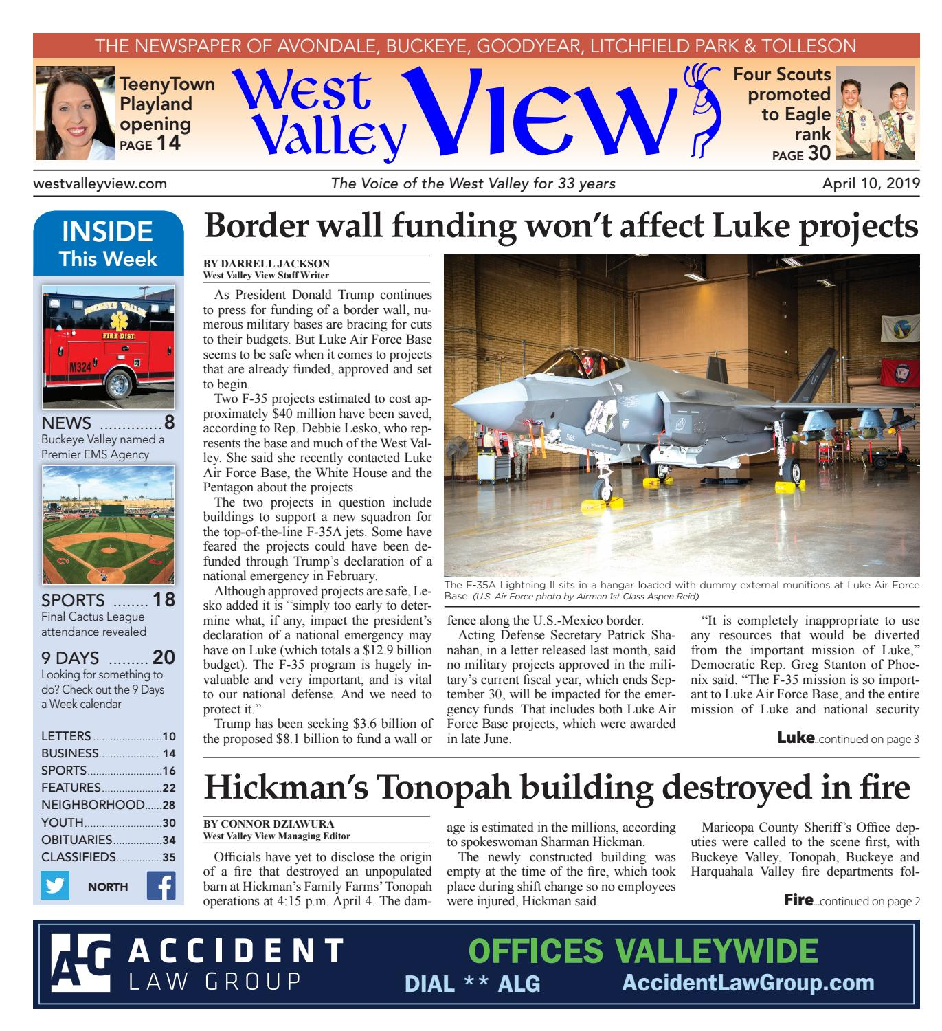 West Valley View: North 04-10-2019 by Times Media Group - issuu