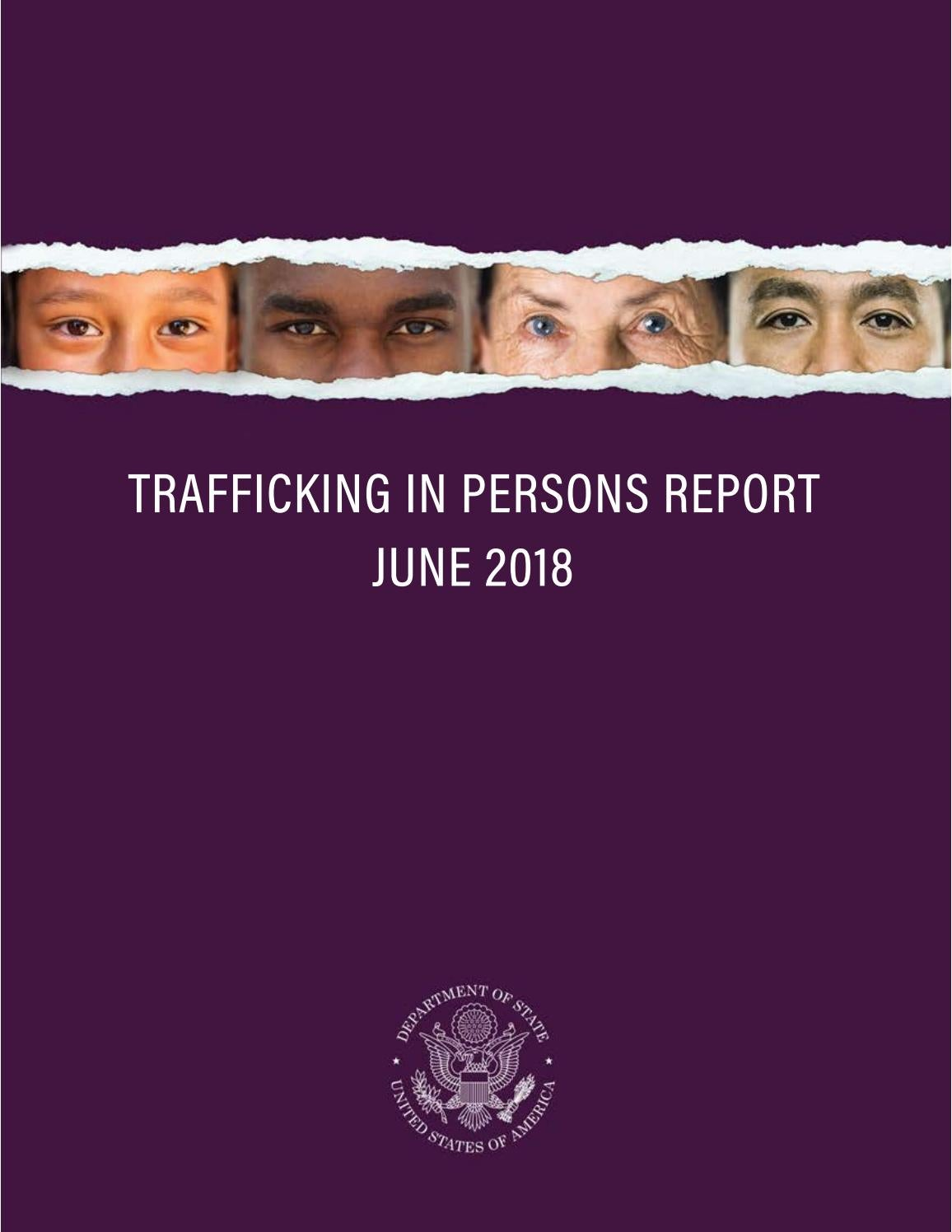 2018 Trafficking in Persons Report by Media Voices for