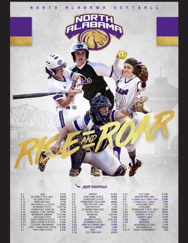 2019 UNA Softball Media Guide by University of North Alabama