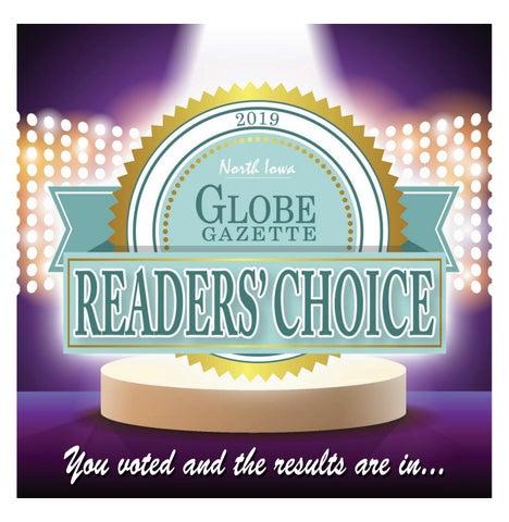 2019 Readers Choice By Globe Gazette Issuu