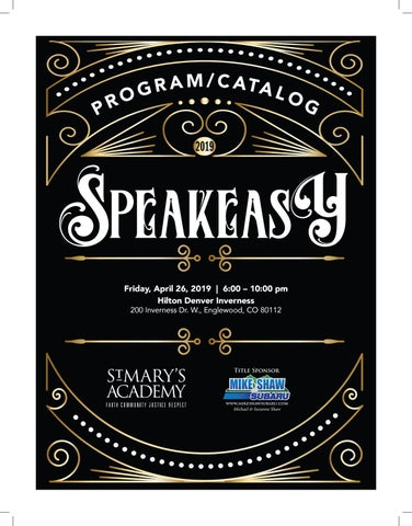 adf91a450a0e 2019 Gala Catalog by St. Mary's Academy - issuu