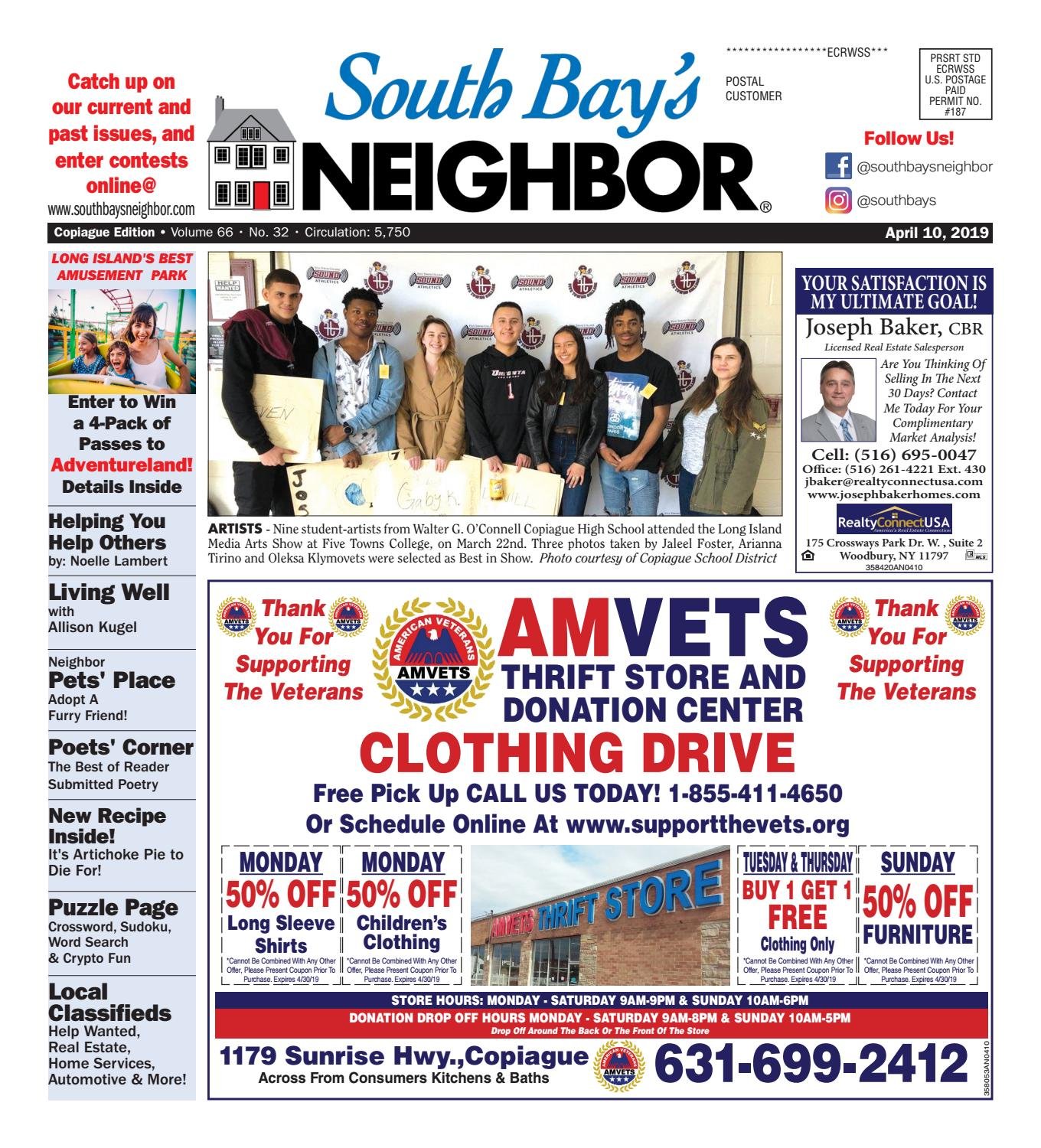 April 10, 2019 Copiague by South Bay's Neighbor Newspapers