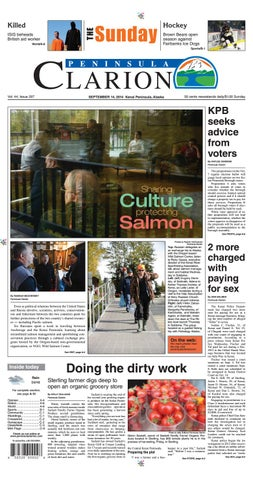 beb338eaad7 Peninsula Clarion, September 14, 2014 by Sound Publishing - issuu
