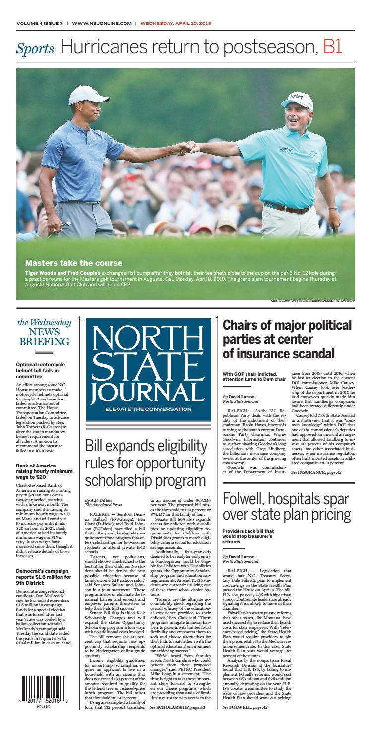 North State Journal Vol  4, Issue 7 by North State Journal