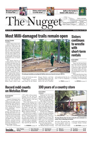 The Nugget Newspaper // Vol  XLI No  26 // 2018-6-27 by