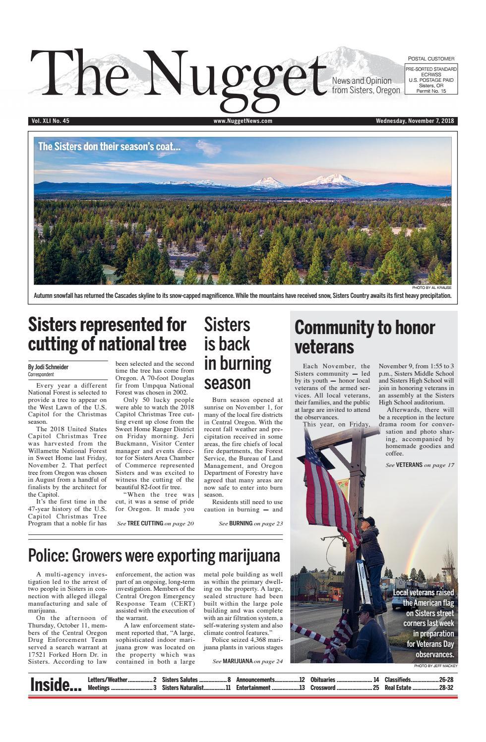 The Nugget Newspaper // Vol  XLI No  45 // 2018-11-7 by