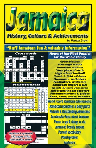 Jamaica - History, Culture & Achievements by Jamaica Puzzles - issuu