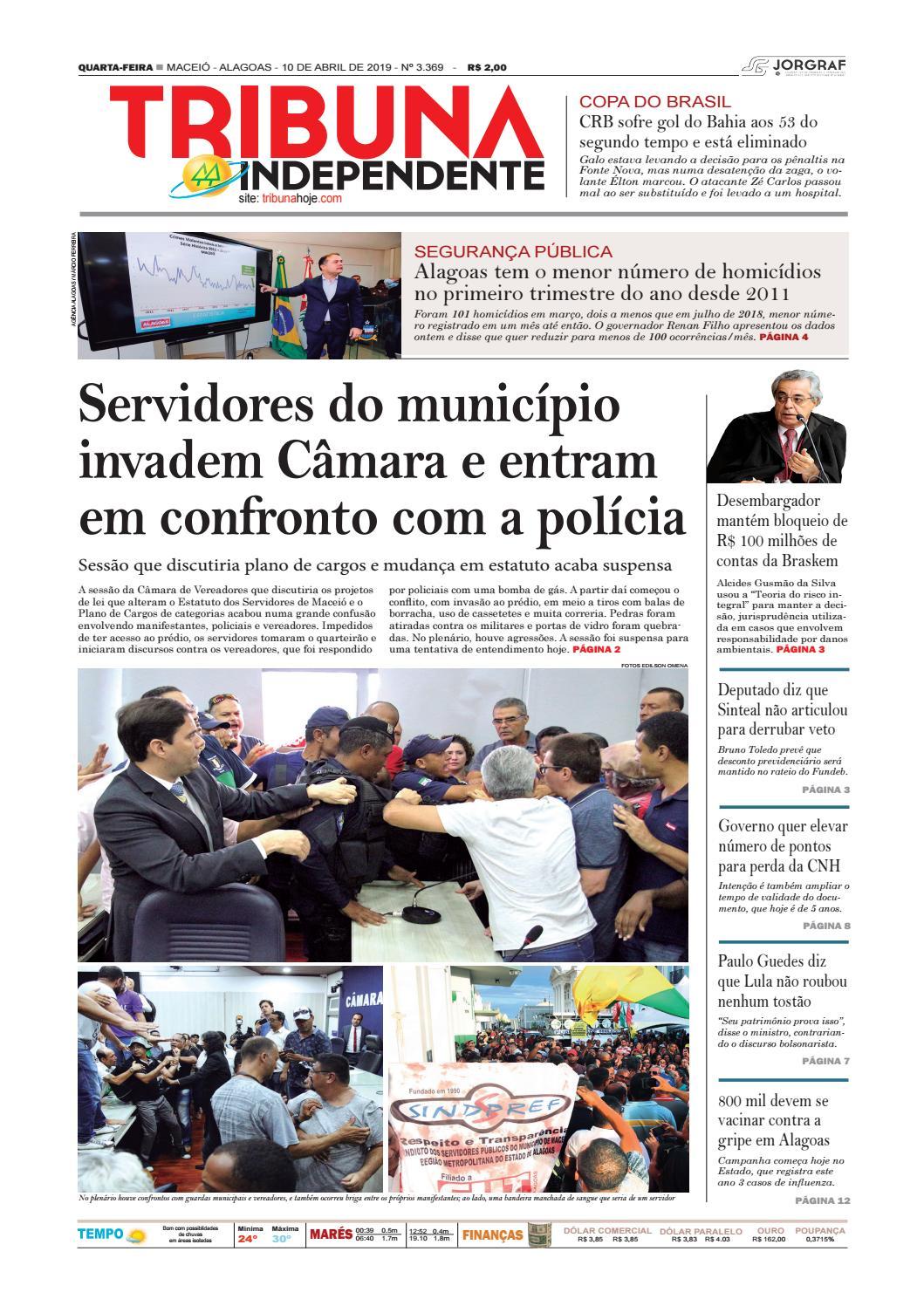 4b308c671 Edição número 3369 - 10 de abril de 2019 by Tribuna Hoje - issuu