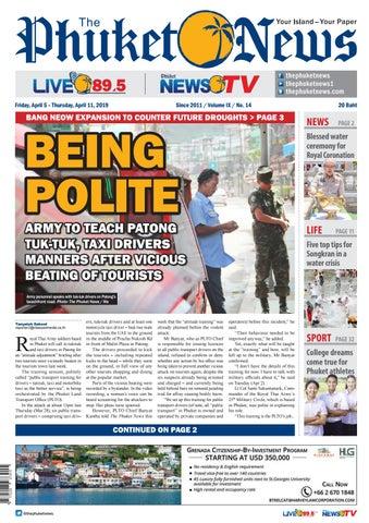 The Phuket News 05 April 2019 by The Phuket News - issuu