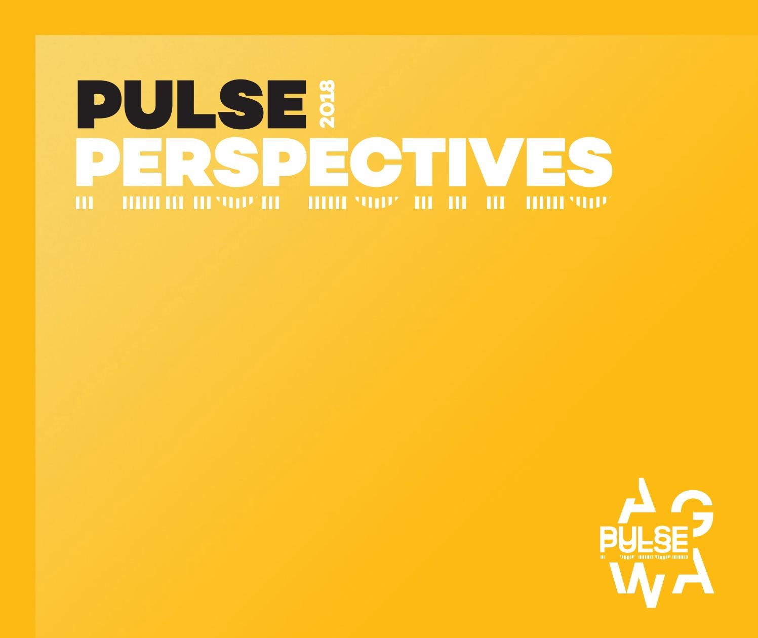 Pulse Perspectives 2018 by Art Gallery of WA - issuu