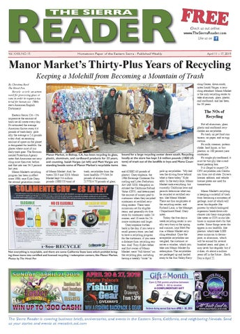 THE SIERRA READER APRIL 18 2018 by The Sierra Reader - issuu