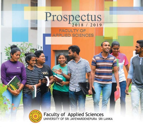 Faculty of Applied Science Prospectus 2018-2019 University of Sri