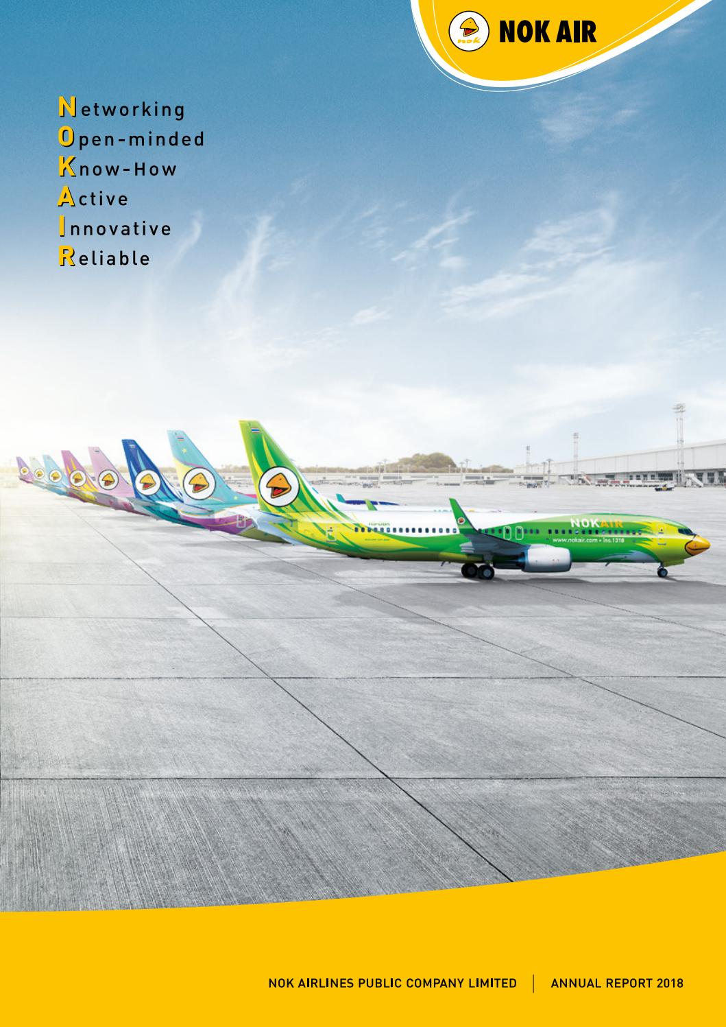 Annual Report 2018 EN by Nok Airlines Public Company Limited