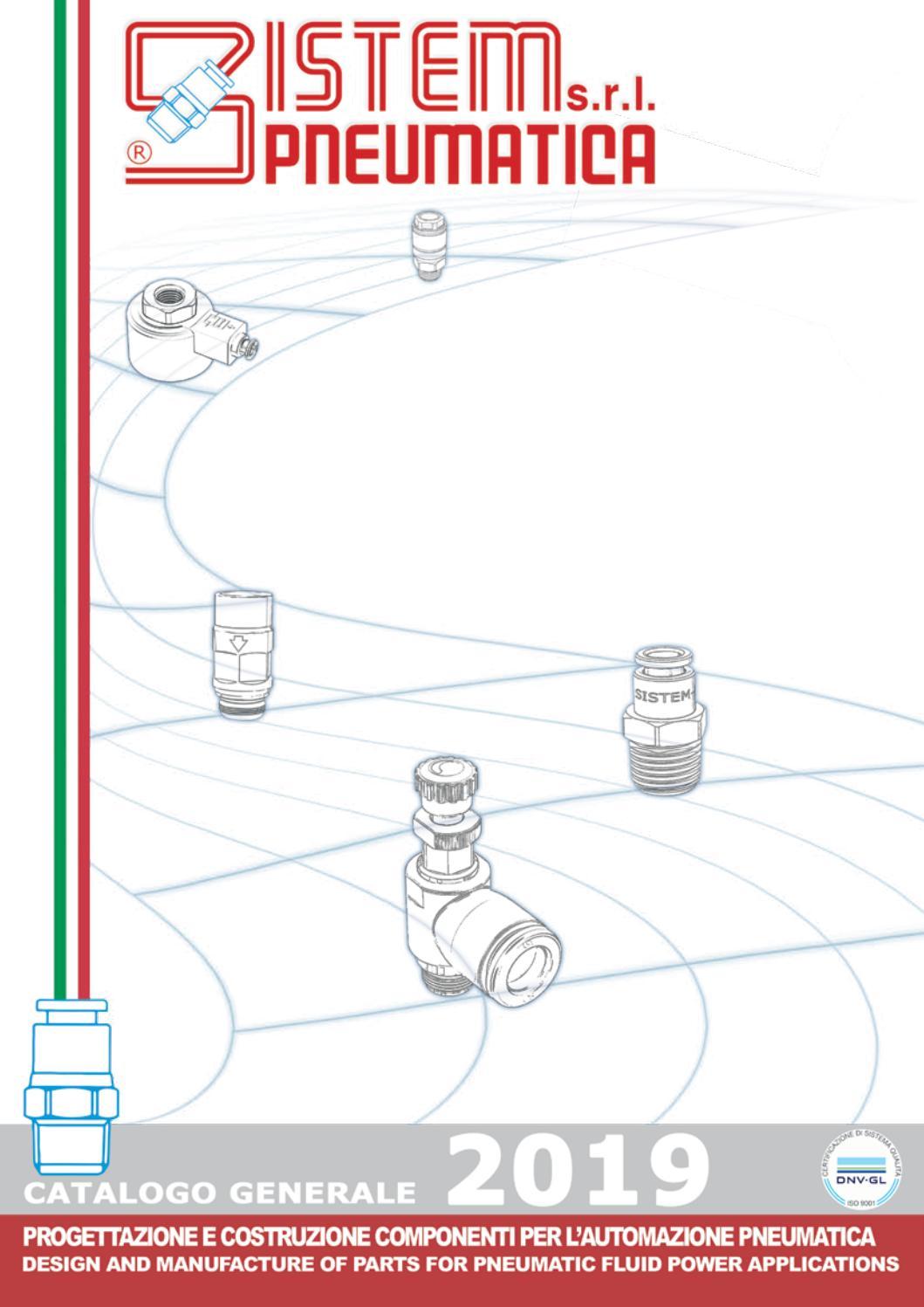 NYLON PNEUMATICO MASCHIO Stud RACCORDO METRICA /& BSP Tubo Inline push fit Connettori