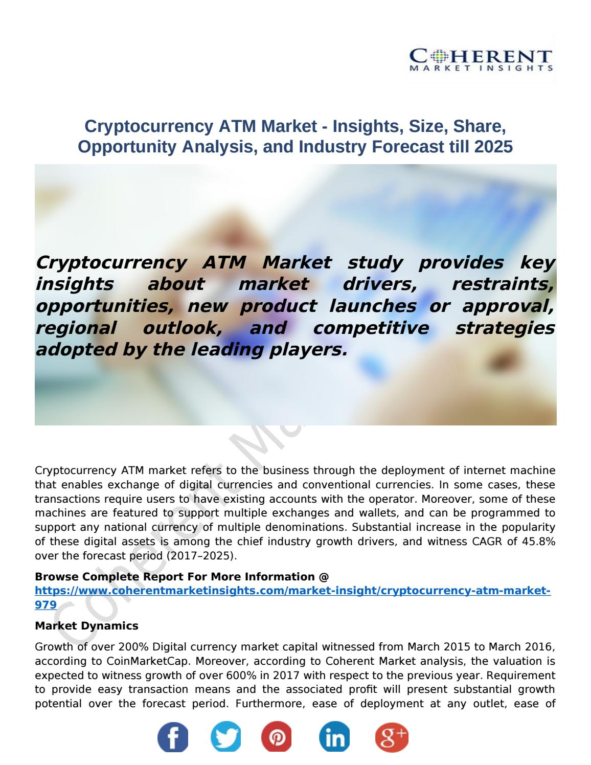 cryptocurrency market opportunity