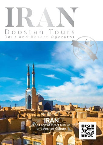Page 1 of Iran Doostan Booklet 2018