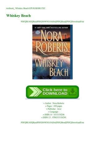 whiskey beach nora roberts pdf free download