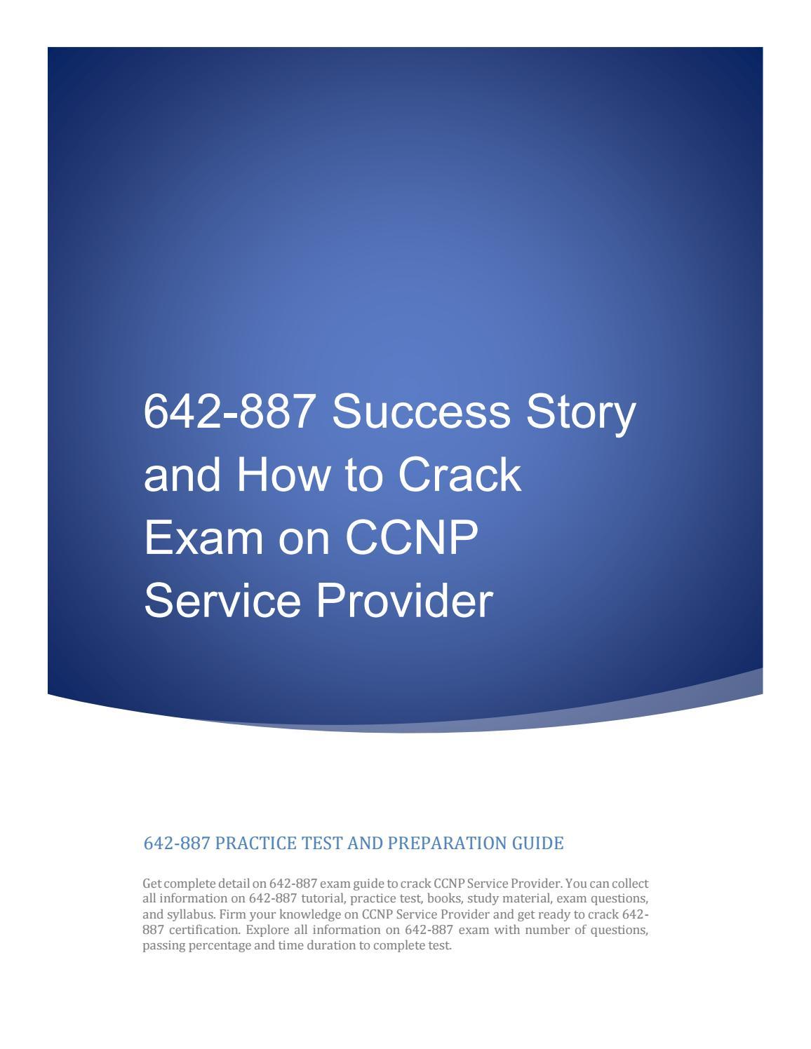 Cisco CCNP Service Provider Core Network SPCORE Test 642-887 Exam QA+Simulator