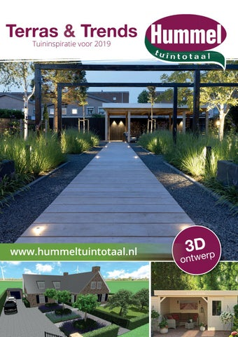 Wonderbaarlijk Hummel Tuintotaal by terrasentrends - issuu XG-36