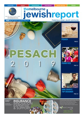 Kosher For Passover Medicine List 2020.The Melbourne Jewish Report April Edition By