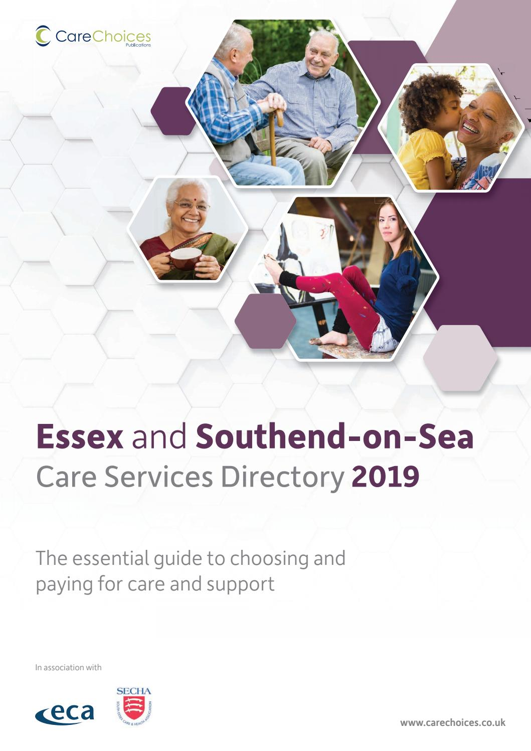Essex and Southend-on-Sea Care Service Directory 2019 by