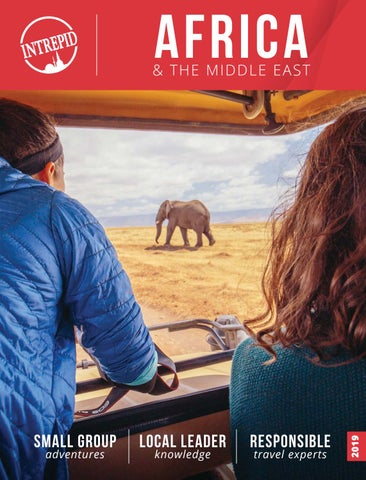 Intrepid Africa & The Middle East 2019 by Travel Designers