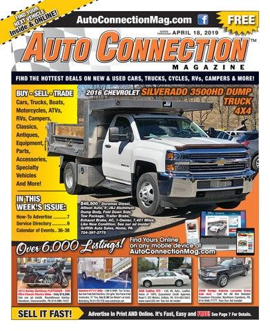 04-18-19 Auto Connection Magazine by Auto Locator and Auto