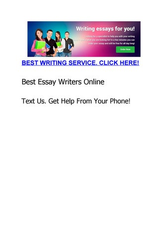 What Is The Best College Essay Editing Service