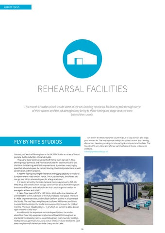 Page 66 of Rehearsal Facilities