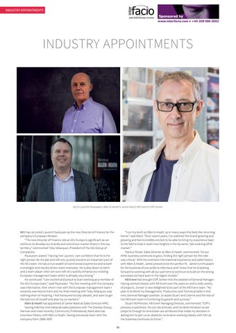Page 98 of Industry Appointments