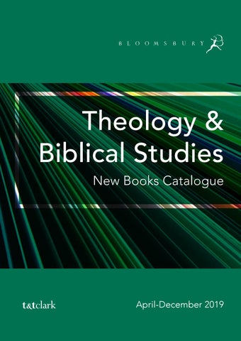 Theology & Biblical Studies Catalogue April-December 2019 by
