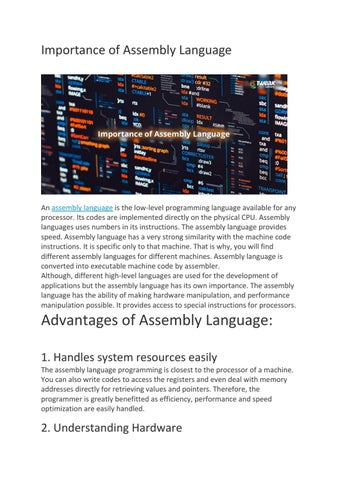 Download_pdf The Art of Assembly Language Programming Using PICmicro