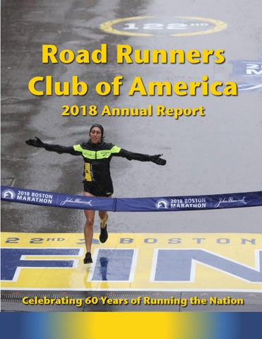 2018 RRCA Annual Report by Road Runners Club of America - issuu