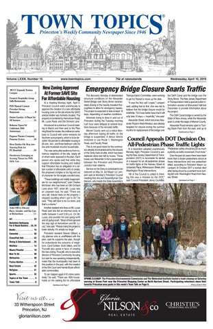 Town Topics Newspaper, April 10 by Witherspoon Media Group
