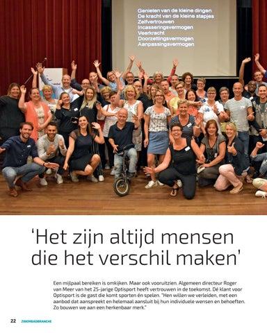 Page 22 of 'Het zijn altijd mensen die het verschil maken'