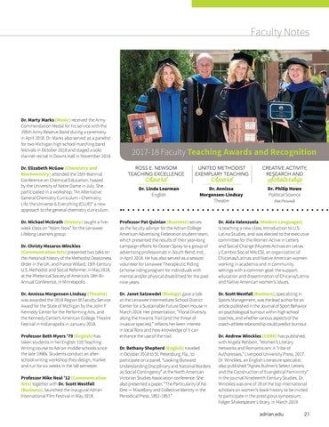 Page 23 of Faculty Spotlight
