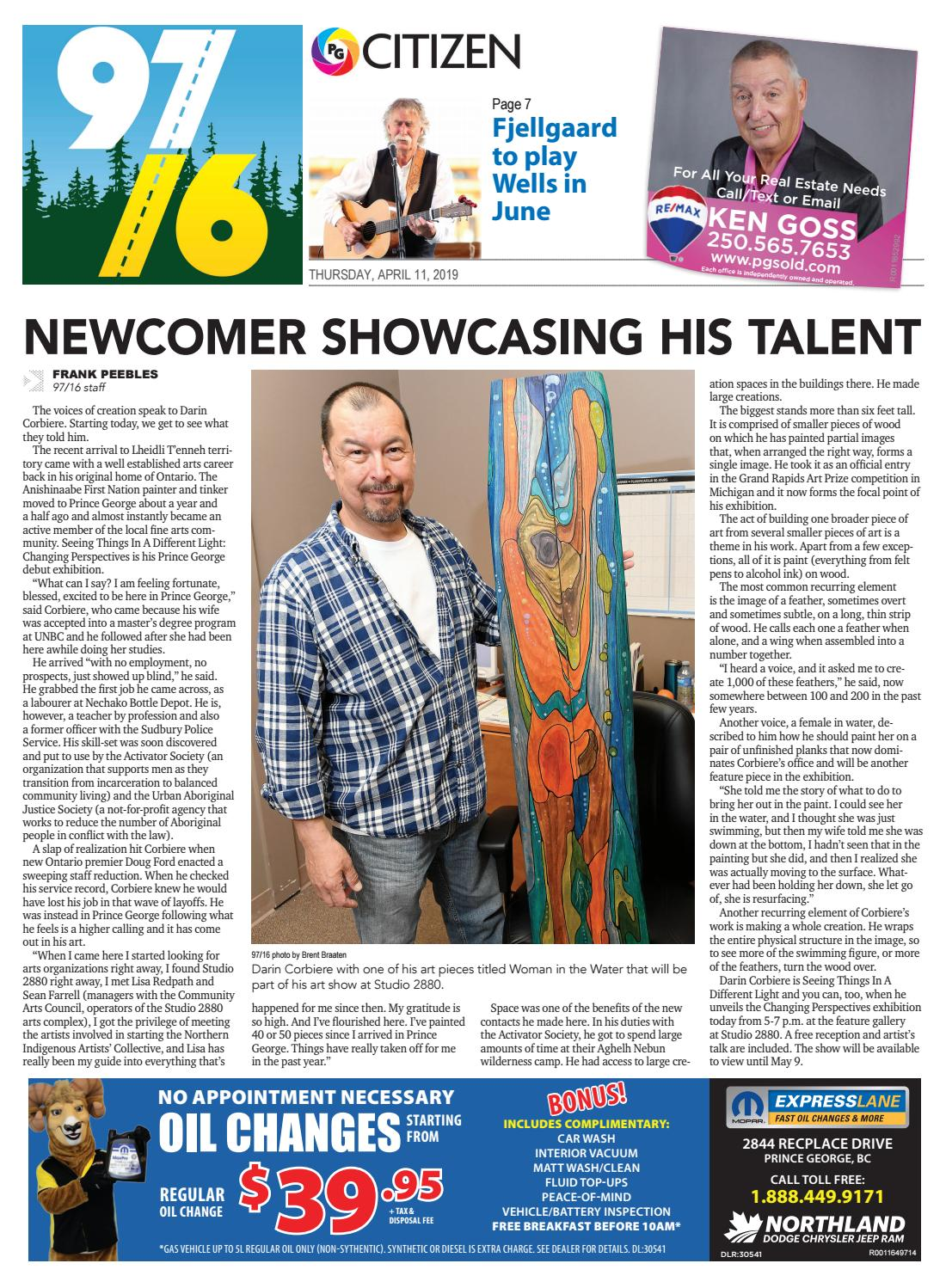 97/16 - Prince George's Weekly News by Prince George Citizen