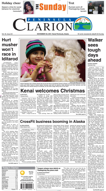 81f78fb3d Peninsula Clarion, November 30, 2014 by Sound Publishing - issuu