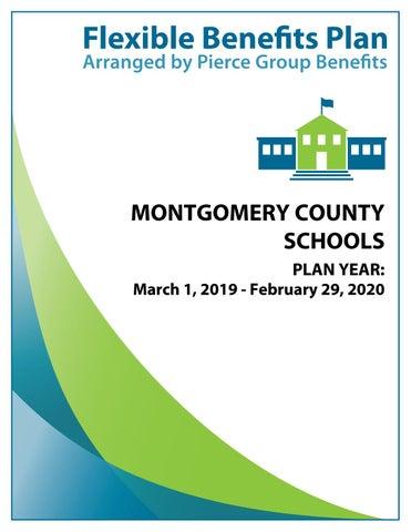 Montgomery County Schools 2019 Booklet - 2019-2020 Plan Year