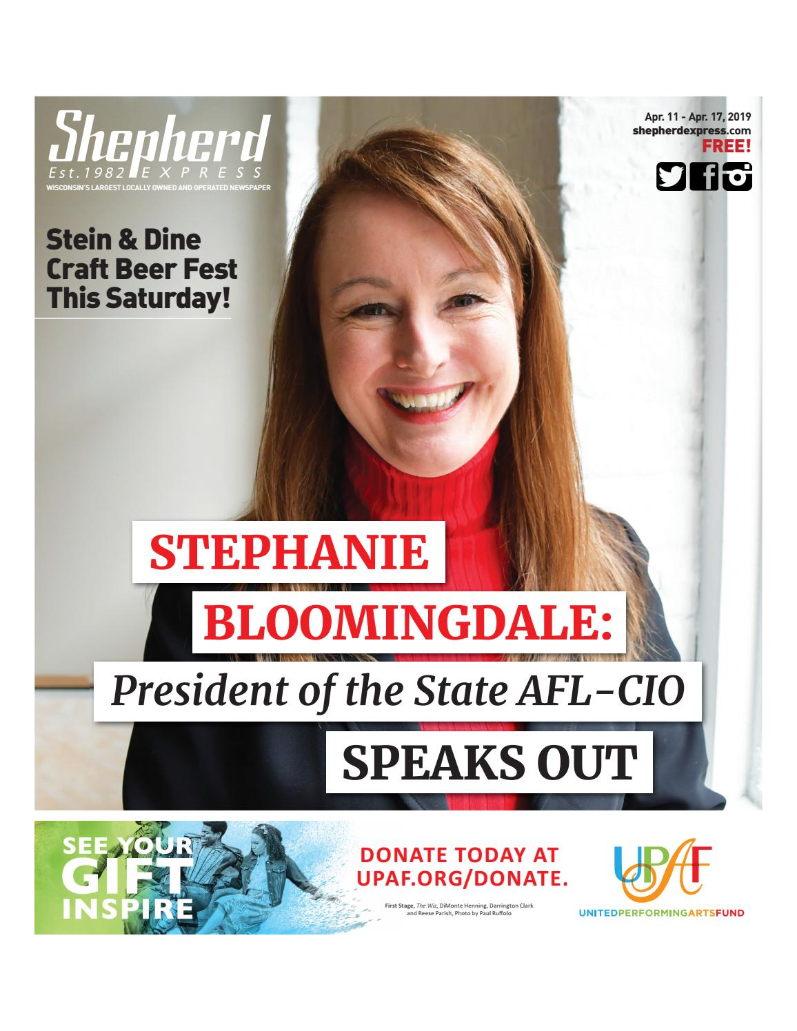 Print Edition: April 11, 2019 by Shepherd Express - issuu