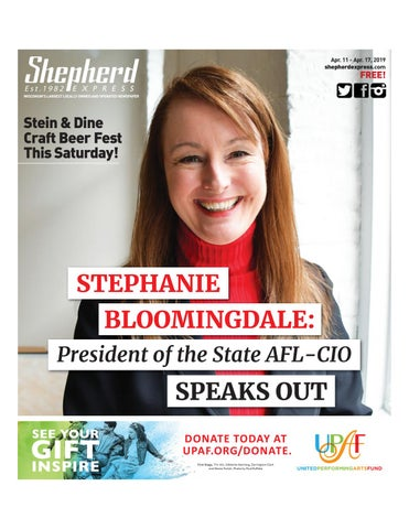 d912bccb3bab Print Edition: April 11, 2019 by Shepherd Express - issuu