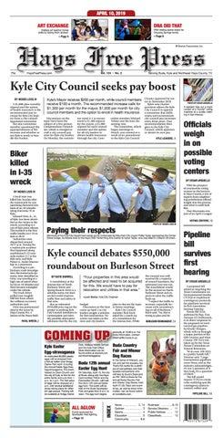 Hays Free Press April 10, 2019 by Hays Free Press/News-Dispatch - issuu