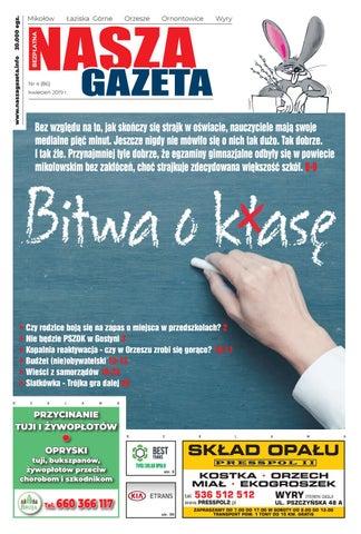 0884fb748 Nasza Gazeta nr 86 - 4/2019 by F-PRESS - issuu