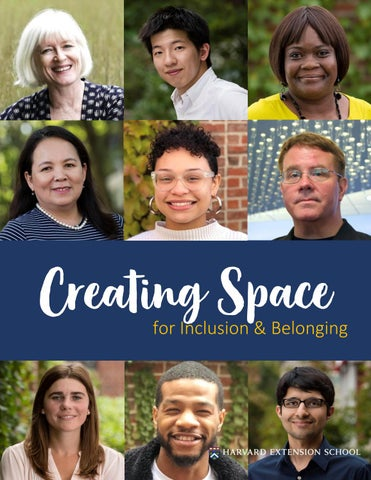 Creating Space for Inclusion & Belonging: Harvard Extension School