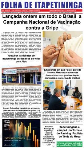 Folha de Itapetininga 11/04/2019 (Quinta-feira)