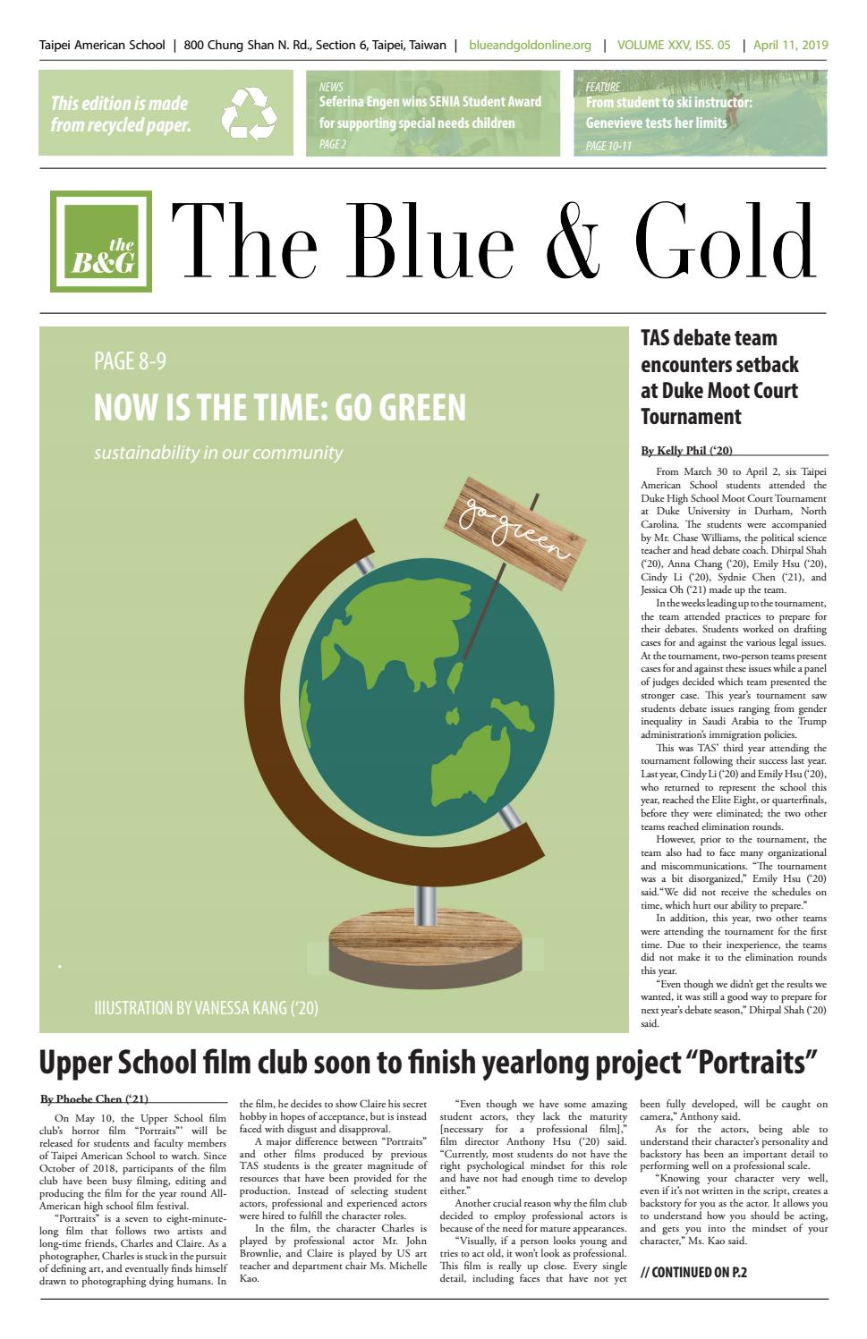 Stella Forest Ete 2018 the blue & gold volume xxv, issue 5the blue & gold - issuu