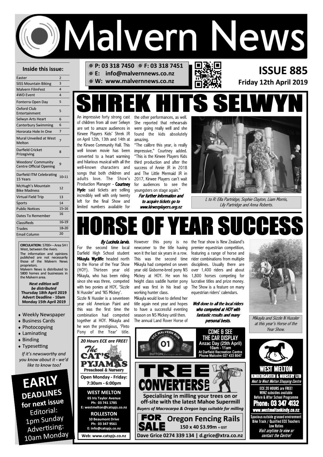 ada65ebf76e Issue 885 - Friday 12th April 2019 by Malvern News - issuu